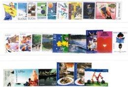 1992-2006 Finland Cept Complete Sets **. - Finland
