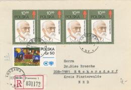 Heinrich Hermann Robert Koch War Ein Deutscher Mediziner, Mikrobiologe Und Hygieniker. Milzbrand R-Brief - Medizin