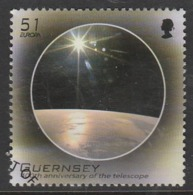 Guernsey 2009 EUROPA Stamps - Astronomy 51 P Multicoloured SW 1236 O Used - Guernsey