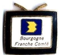 TELEVISION - FR3 - T15 - BOURGOGNE-FRANCHE-COMTE - Verso : SM - Médias