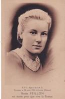 RENEE PEILLON     FFI AGENT DE L AS   TOMBEE LE 28 AOUT 1944 A LOIRE  RHONE - War 1939-45