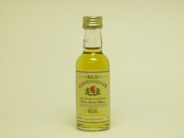 1 Mignonnette De Whisky HIGH COMMISSIONER EXTRA SPECIAL BLEND - Miniatures