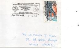Base Aérienne De Salon De Provence - Mécanique Air Illustrée Anniversaire Des Forces Françaises Libres - Poststempel (Briefe)