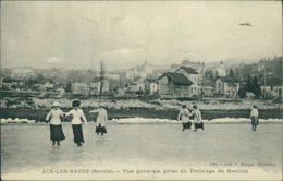 73 AIX LES BAINS / Vue Generale Prise Du Patinage De Marlioz / - Aix Les Bains