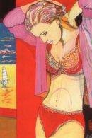B59684 CPM Illustrateur Marc Lenzi - Draguignan Collection Passion, L'histoire Des Dessous Féminin - Illustrators & Photographers
