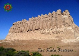 Turkmenistan Kiz Kala UNESCO View New Postcard - Turkmenistan