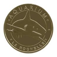 Monnaie De Paris , 2017 , La Rochelle , Aquarium , Le Requin à Pointes Noires - Monnaie De Paris