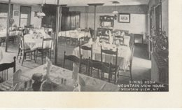 Dining Room, Mountain View House, Mountain View, New York - NY - New York