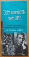 FOLLETO DE CINE. UNIVERSIDAD DE ZARAGOZA - AULA DE CINE - Otras Colecciones