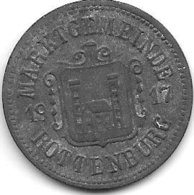 *notgeld  Rottenburg O/d Laaber 50  Pfennig  1917 Zn  454.4 - Altri