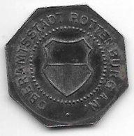 *notgeld  Rottenburg A. N. 10  Pfennig  1918 Fe  455.1b - Andere