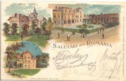 CPA Roumanie Salutari Din Romania - Roemenië