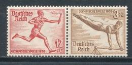Deutsches Reich Zusammendruck W 109 ** Mi. 6,- - Zusammendrucke