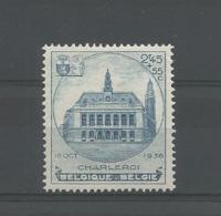 Belgium 1936 Charleroi OCB 437 ** - België