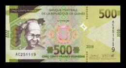 Guinea 500 Francs 2018 (2019) Pick New Design SC UNC - Guinee