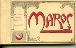 N°78207 -carnet Maroc -20 Cartes Postales Détachables- RR- - Non Classés