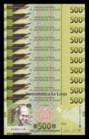 Guinea Lot Bundle 10 Banknotes 500 Francs 2018 (2019) Pick New Design SC UNC - Guinea