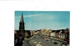 Mouscron Grand'Place Et Eglise St. Barthélemy. - Mouscron - Moeskroen