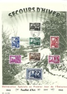 7e WINTERHULP /SECOURS D'HIVER 631/638 1ste Dag - Vel 15.11.1943 - Other