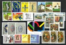 Liechtenstein Año 2001 Cat.87,75€ - Unused Stamps