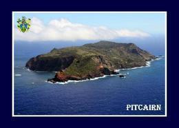 Pitcairn Island Aerial View New Postcard Pitcairninseln AK - Isole Pitcairn