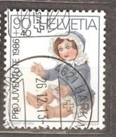 Switzerland: Pro Juventute, 1 Used Stamp From A Set, Children Toys, 1986, Mi#1334(2) - Pro Juventute