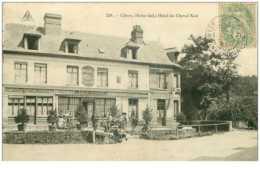 76.CLERES.n°17545.HOTEL DU CHEVAL NOIR - Clères