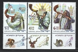 Israel 2010  Yv. 2043-45, The Shofar – Tab - MNH - Ungebraucht (mit Tabs)