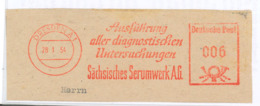 Dresden Diagnostische Untersuchungen - Serumwek Sachsen AFS 1954 - Medizin