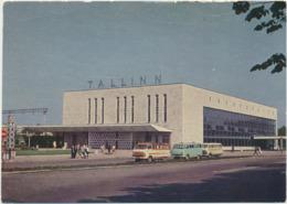 78-906  Estonia Russia USSR Postal Stationery Tallinn Railway Station - Estonie