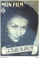 CINEMA-LA VALSE BLANCHE-ARIANE BORG-LISE DELAMARE-JULIEN BERTHEAU-MF 217-1950 - Cinéma