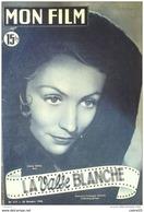 CINEMA-LA VALSE BLANCHE-ARIANE BORG-LISE DELAMARE-JULIEN BERTHEAU-MF 217-1950 - Cinema