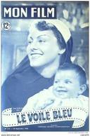 CINEMA-LE VOILE BLEU-GABY MORLAY-JOURDAN-LARQUEY-CHARPIN-MF 213-1950 - Cinema