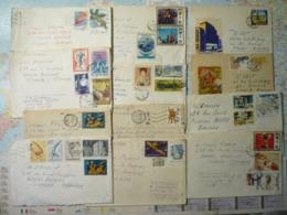 67 Enveloppes Ayant Voyagé Années 1969-1989 - Non Classificati