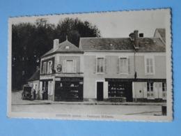 ISSOUDUN -- Faubourg St-Denis - Camion - Café Denis - Tabac - Café De La Promenade - Carte PEU COURANTE !! - Issoudun