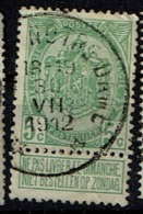 83  Obl Relais  Tongre-Notre-Dame  + 15 - 1893-1907 Coat Of Arms
