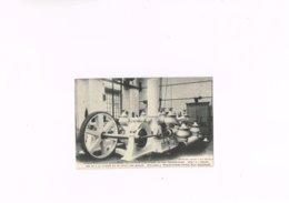 Ateliers J.Preud'homme Prion Huy Pompe élévatoire Commandée Par Moteur électrique Désiré Van Dantzig Et Fils Bruxelles. - Huy