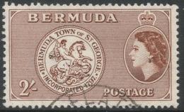 Bermuda. 1953-62 QEII. 2/- Used. SG 146 - Bermuda