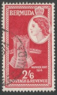 Bermuda. 1953-62 QEII. 2/6 Used. SG 147 - Bermuda