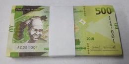 Guinea Taco Bundle 100 Banknotes 500 Francs 2018 (2019) Pick New Design SC UNC - Guinee