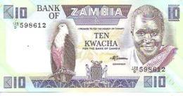 Zambia P-26e 10 Kwacha 1986-88 UNC - Zambia