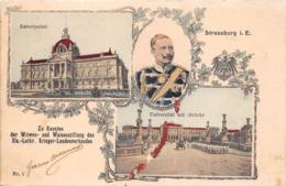 ¤¤  -  STRASBOURG   -  Kaiserpalast  -  Universität Mit - Brücke    -  ¤¤ - Strasbourg