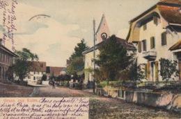 Zei (2) Gruss Aus Kulm, Rasierstempel 19.VI.1903, Vorgelaufene Karten - AG Argovie