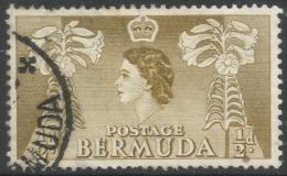 Bermuda. 1953-62 QEII. ½d Used. SG 135a - Bermuda