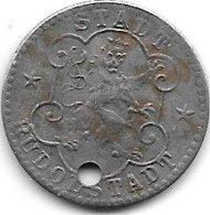 *notgeld Rudolfstadt 10  Pfennig  1918 Fe  457.5a/a - Other