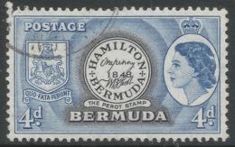 Bermuda. 1953-62 QEII. 4d Used. SG 141 - Bermuda