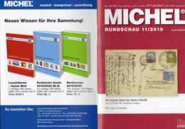 MICHEL Briefmarken Rundschau 11/2019 New 6€ Stamps Of The World Catalogue/magacine Of Germany ISBN978-3-95402-600-5 - Riviste