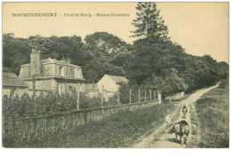 78.ROCQUENCOURT.n°13645.FORET DE MARLY.MAISON FORESTIERE - Rocquencourt