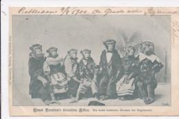CP FANTAISIE Singes Ernst Perzina's Dressirte Affen Die Beste Komishe Dressur Der Gegenwart - Animali Abbigliati