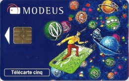 Télécarte Promotionnelles 5 U - Gn515 - Modeus (luxe) - GEM2 - 5 Einheiten